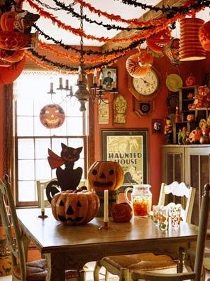 ハロウィンお部屋の飾り方