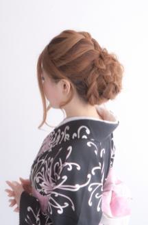 振袖髪型ロング