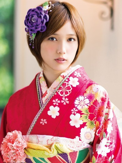 成人式 髪型 成人式 髪型 芸能人 : 画像 : 2015年成人式に!着物 ...