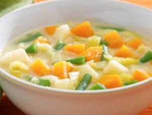 やさしい野菜スープ