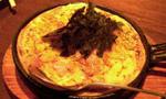 ハム山芋鉄板焼き
