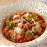 トマトハム雑炊