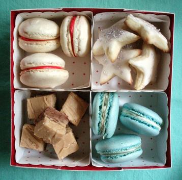 手作りクッキー包み方