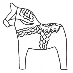 テンプレート1北欧馬