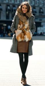 脚みせ冬ファッション