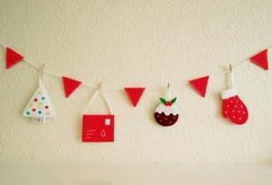 手作りヨーロッパクリスマスガーランド