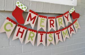 手作りクリスマスガーランド簡単