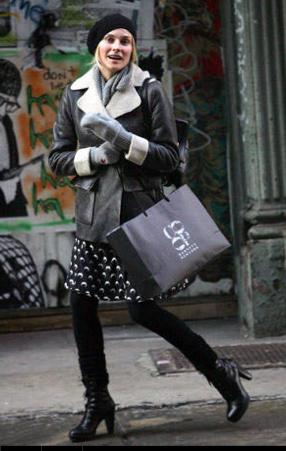 ニューヨークストリートファッション冬