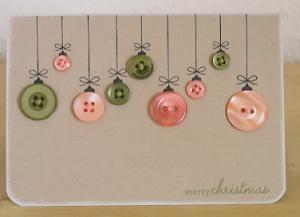 おしゃれクリスマスカード作り方