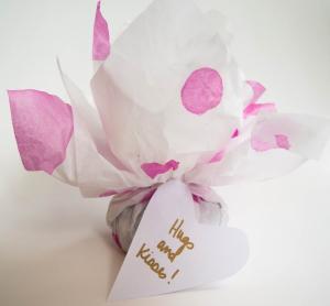 超簡単バレンタインチョコラッピング方法