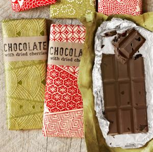 板チョコギフトラッピング方法