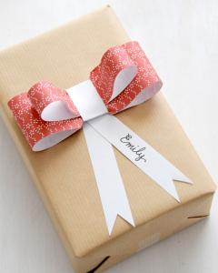 折り紙リボンボウ作り方