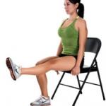椅子ダイエット運動