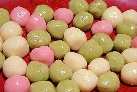 ひな祭り和菓子レシピ