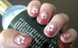 桜ネイルやり方