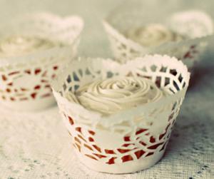 手作りカップケーキカップ