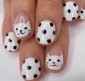 小さい爪ネイルデザインやり方