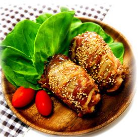 豚肉巻きおむすびレシピ