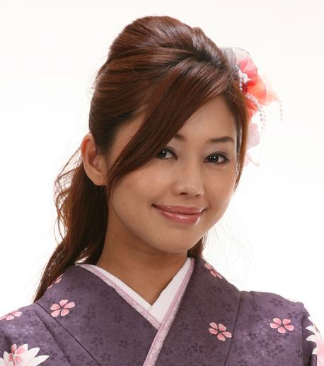 卒業式の袴に合うロング髪型