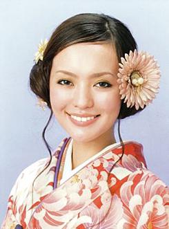 レトロ髪型ミディアム袴