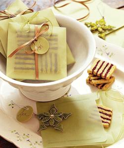 クッキー封筒ラッピング