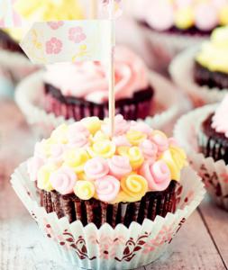 母の日かわいいカップケーキアイデア