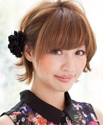 最新のヘアスタイル 水着髪型ミディアムアレンジ : ... アレンジ ショート髪型 | 日常