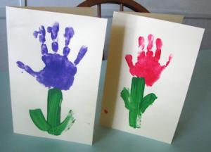 保育園手作り母の日カード