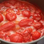カニ鍋スープトマト味