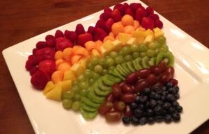フレッシュフルーツ盛り付け方法おしゃれ