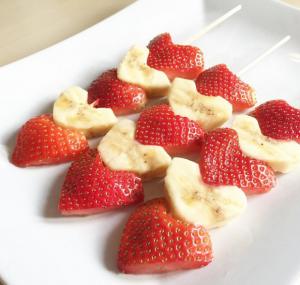 フルーツ串作り方盛り付け