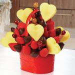 バレンタインデーにかわいいフルーツの盛り付けアイデア