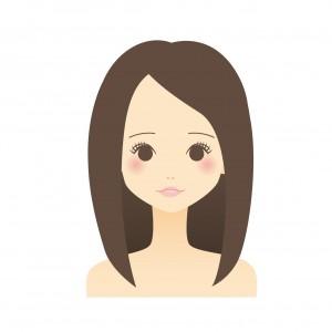 オークル系色白に合う髪色