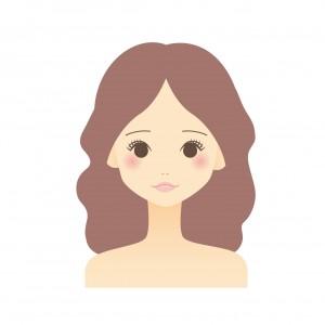 ピンク系肌色に似合う髪色